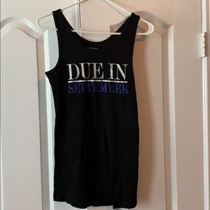 Due in September Sz S Maternity Tank top
